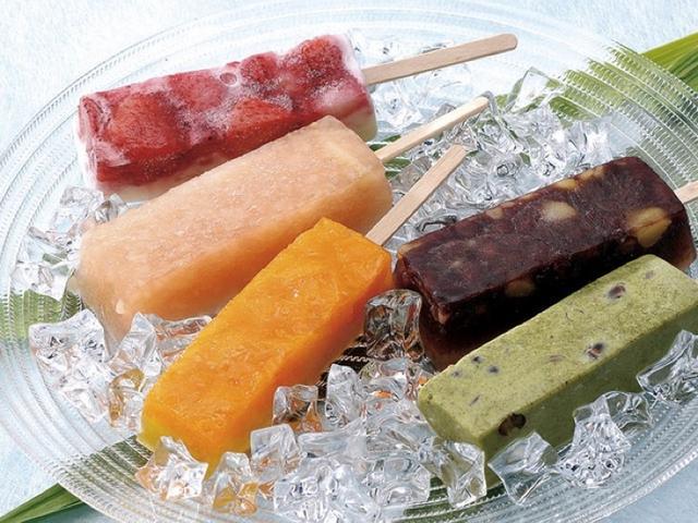 画像: 今年の新食感 2「くずしゃり」/ 国産くずと果物 溶けないアイスキャンデー /お取り寄せ