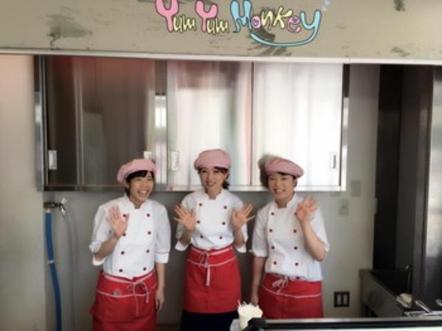 画像: 秋葉原のアイスクリーム専門店 ヤムヤムモンキー でお手伝い