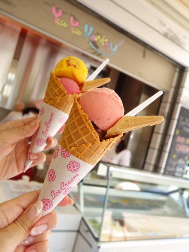 画像: 秋葉原にアイス「ヤムヤムモンキー」オープン/AKB48劇場 ドン・キホーテ前/国産果物も豊富