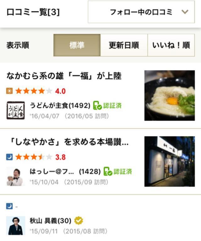 画像: 「香川 一福」(神田)のカレーうどんが相当に美味しかった