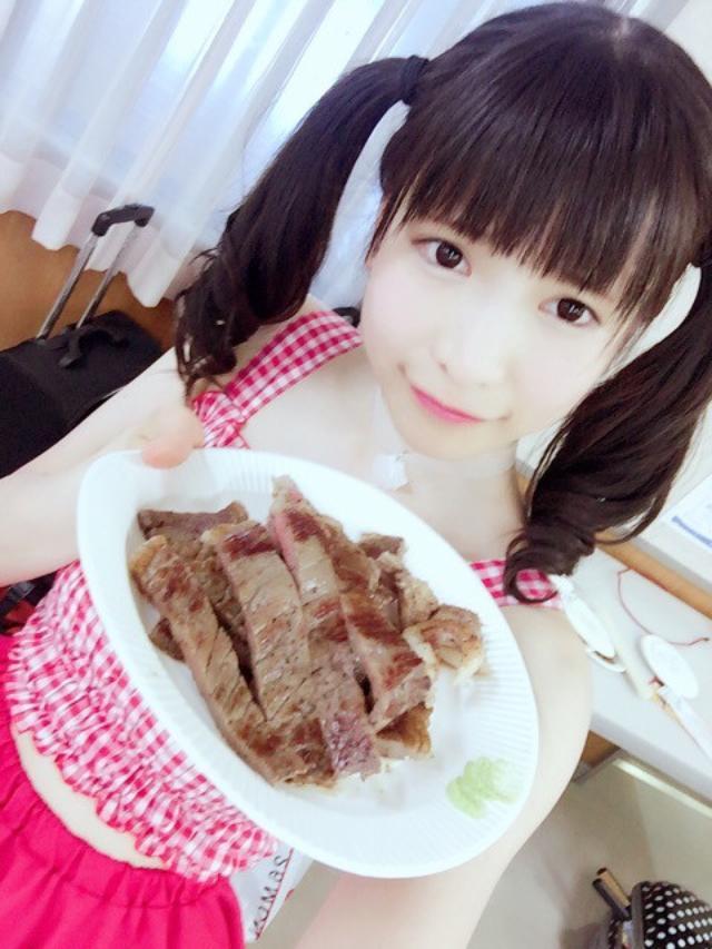 画像: ステーキ食べ放題♪