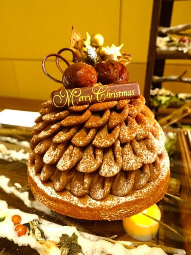 画像: 「ハイアットリージェンシー東京」のクリスマスケーキ が 大人かわいい !
