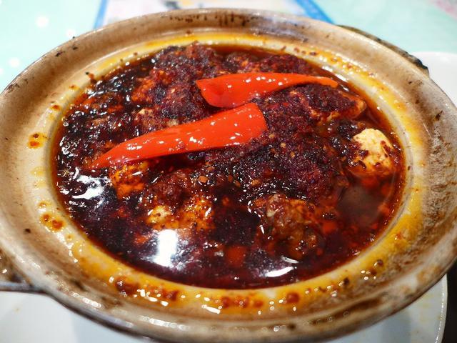 画像1: 本日のランチは心斎橋にある中華料理のお店「大成閣」に行きました。1016年9月1日~31日まで開催の「稲妻麻婆ラリー2016」の参加店で、昨日に引き続き、「稲妻麻婆豆腐」を食べに行ってきました(^^「稲妻麻婆(小)」(8... emunoranchi.com