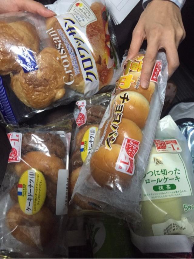 画像: 朝まで大食い♪