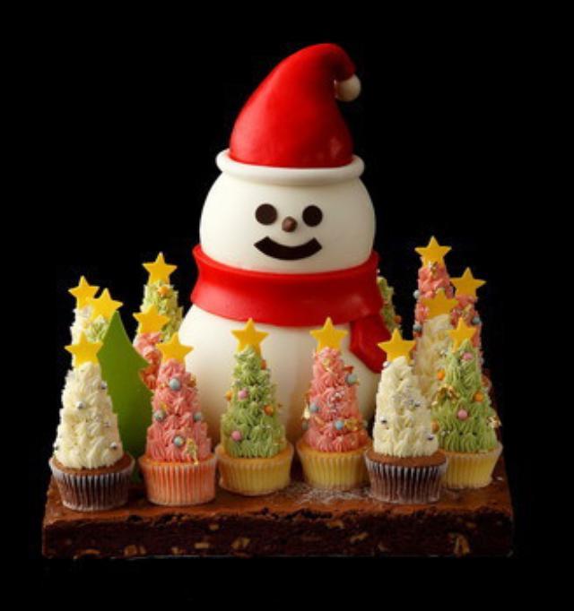 画像: パレスホテル東京 A Festive Christmas 2016 クリスマスケーキとブレッド