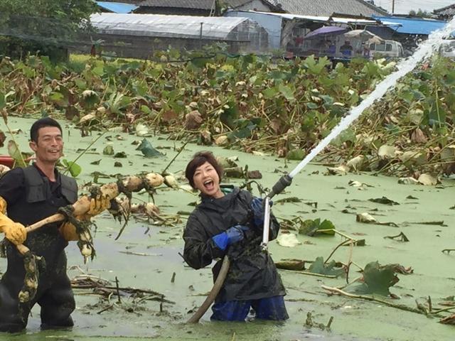 画像: れんこん掘ったどどどどどどどどーーーー\(^o^)/ 茨城で農業講演会