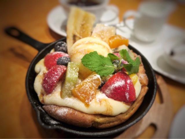 画像: 銀座 tcc Cafe シンガポールカフェのパンケーキ