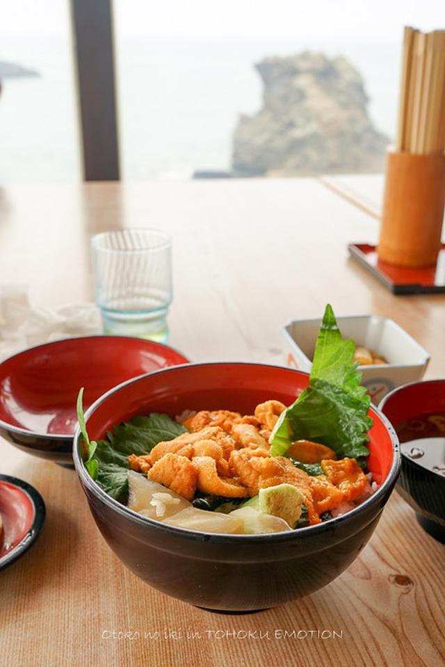 画像: 小舟渡 (八戸)うに丼と葦毛崎展望台と種差海岸