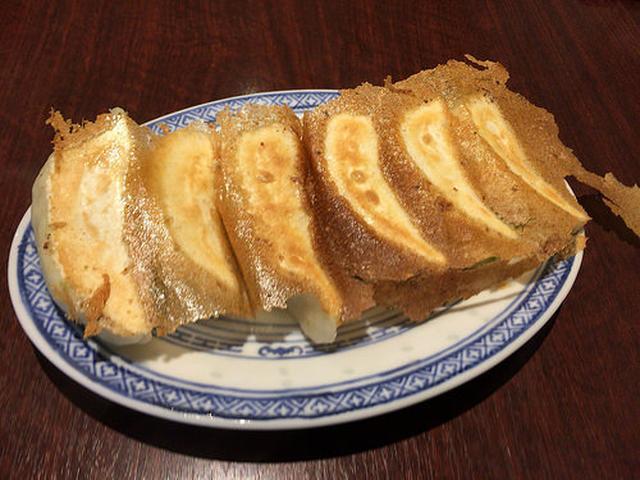 画像: タレコミ情報【山手】「葉牡丹」のモチモチ手作り皮で包まれた生姜香る野菜餃子