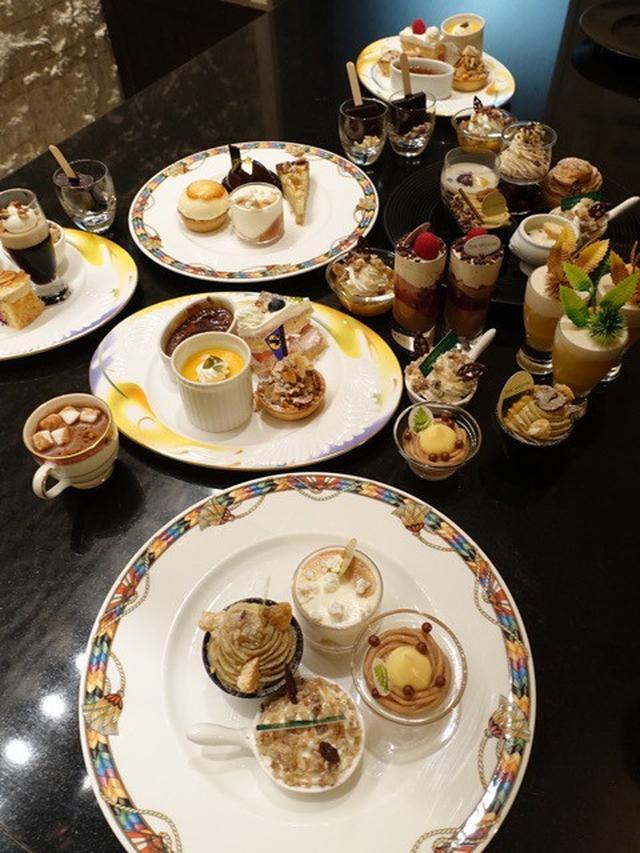 画像: 栗スイーツ約40種❗️ウェスティンホテル東京「ザ・テラス」の「マロンデザートブッフェ」がすごい!