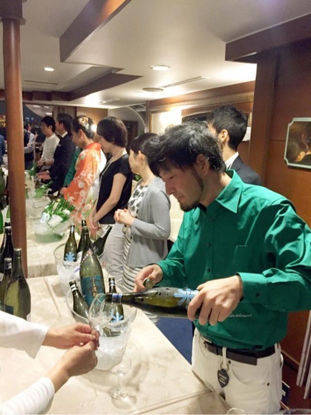 画像: 日本酒オーシャンズ 東京湾クルーズ 司会