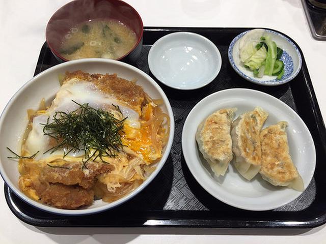 画像: 新「ラッキー飯店」のカツ丼と餃子で運気アップ!【春日】