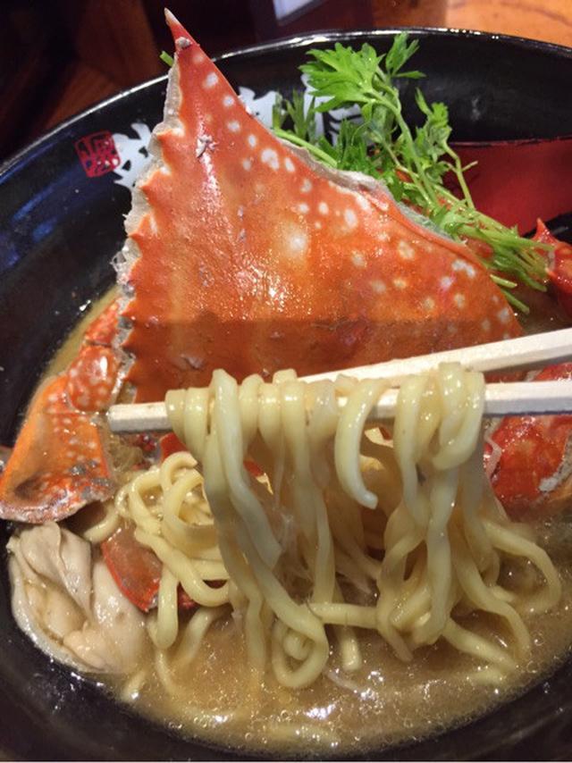 画像: 蟹ラーメン♪
