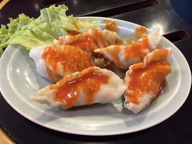 画像: ニュータンタンメン本舗でカルビクッパと味噌餃子【川崎】