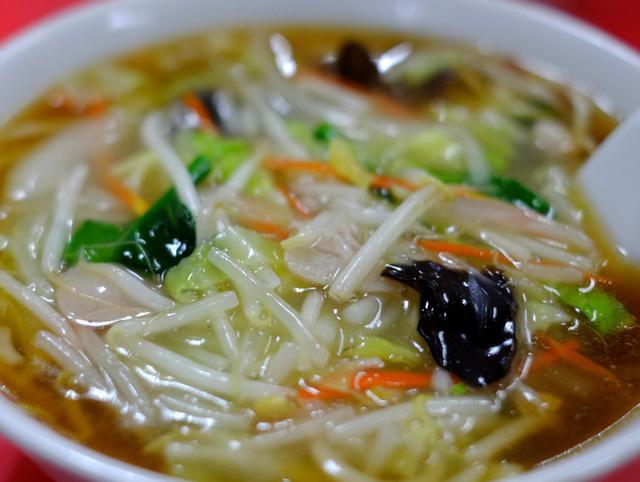 画像: 「横浜 玉泉亭のサンマー麺」