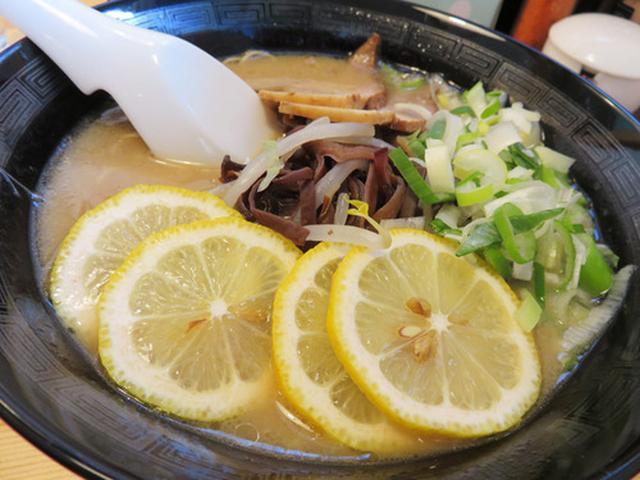 画像: 【福岡】レモンラーメン&さわやかラーメン♪@ラーメン花道
