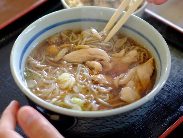 画像: 「鳥取・大山町 まつおか食堂の大山おこわ&とり蕎麦」