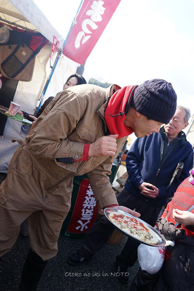 画像: 穴水牡蠣祭りの巻 (能登)