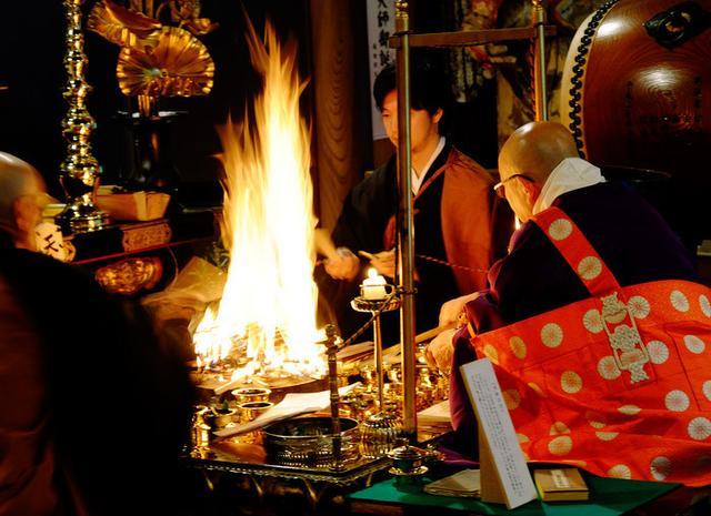 画像: 「鳥取・三朝町 三徳山三佛寺の護摩法要・輪光院の斎食儀(ランチ)」