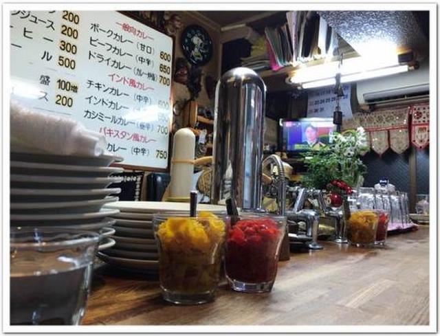画像: カレーですよ2440(松戸 カレー専門店 印度)おや、コルマというメニューが。