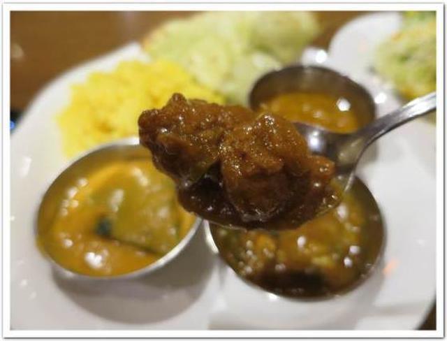 画像: カレーですよ2443(荻窪 ナタラジ)お昼の食べ放題、オールベジ。