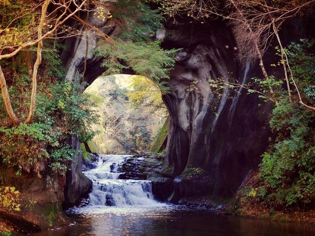 画像: 「千葉・君津 濃溝の滝へ」