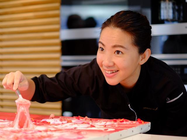 画像: 「ジャニス・ウォン来日 エディブルアート(食べられるアート)デモンストレーション」