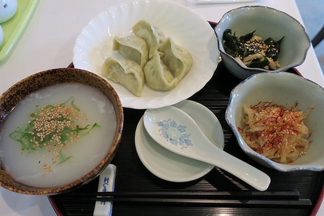 画像: 薬膳水餃子専門店「瓦奉店」でヒスイ水餃子と海老入り水餃子