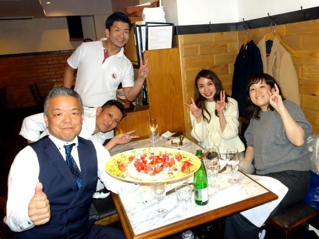 画像: 新宿「カポリ」でもバースデードルチェピッツァ!!