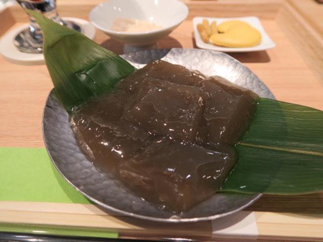 画像: 茶庭 然花抄院 渋谷ヒカリエ ShinQs店・わらび餅