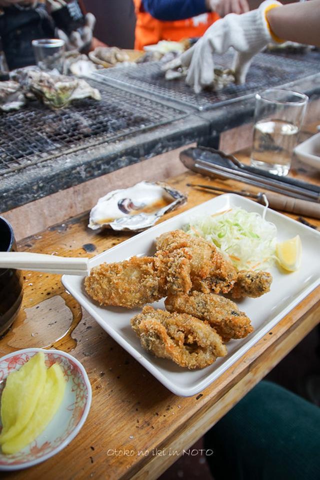 画像: あつあつ亭 (能登)穴水駅の限定 牡蠣焼き場