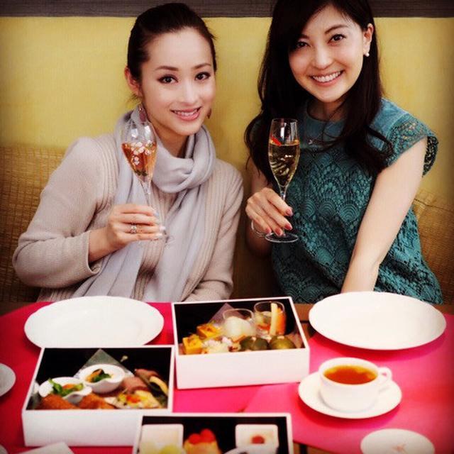 画像: 桜尽くしの女子会@東京マリオットホテル