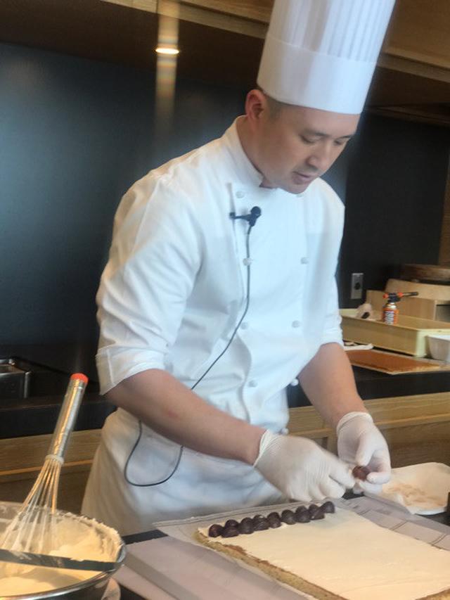 画像: 新作は 新茶スイーツ!アンダーズ東京 田中麗人シェフ発表会