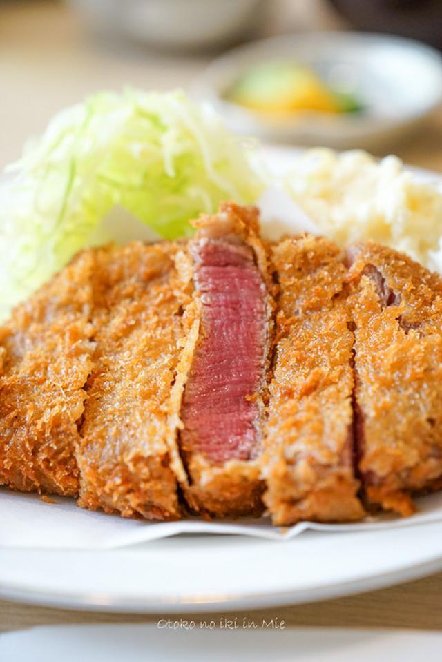 画像: とんかつ野崎 (松阪)ひれかつ丼をいただきます。