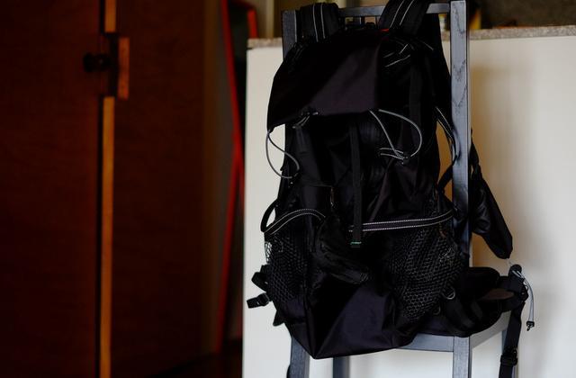 画像: 「バックパックを買いました」