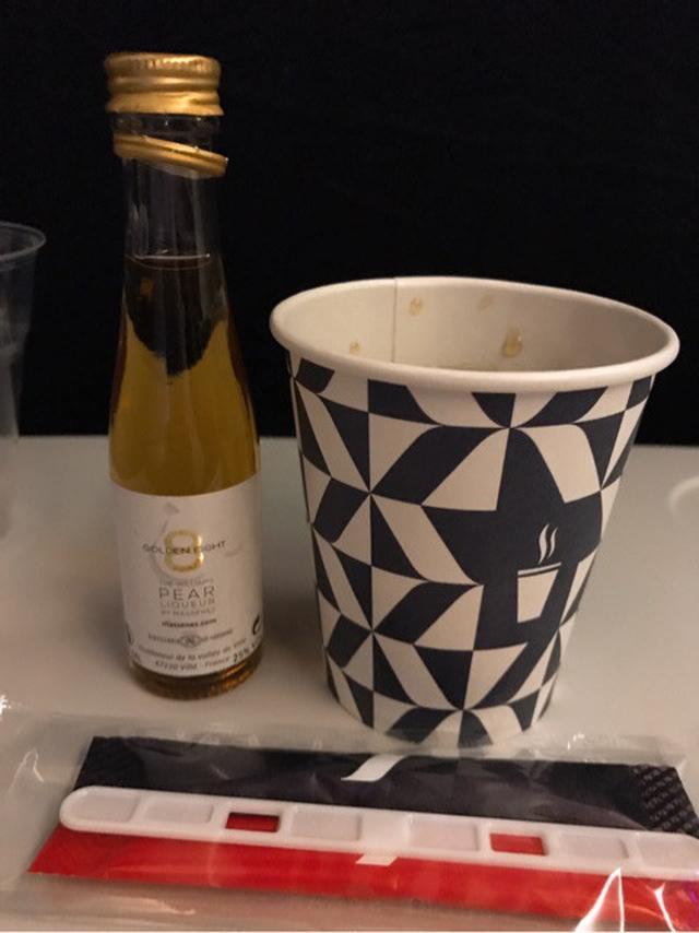 画像: エールフランスの機内食♡