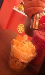 画像: 氷が弾ける!炭酸スムージー「原宿オレンジパンチ 」 新商品は「ストロベリー ボンブ!」