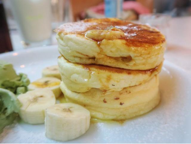 画像: 群馬県高崎市・ベッドフォードカフェ リコッタパンケーキ