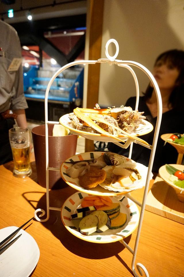 画像: 【福岡】博多駅前で海鮮BBQ&楽しい創作料理♪@磯っこ商店 福岡博多店