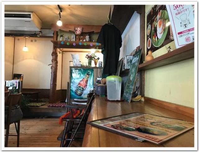 画像: カレーですよ4322(厚木七沢温泉 ワイワイ アジアごはんやさん)里山のグリーンカレーとガイパッキン。