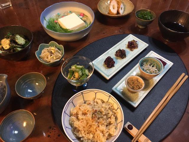 画像: 多忙につき。。。ささやかな我が家の晩ご飯
