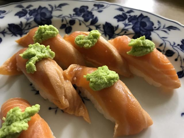 画像: 銀鮭のわさびが多すぎる?いいえわさびじゃないんですクイズ〜!東北食べる通信車座座談会でした