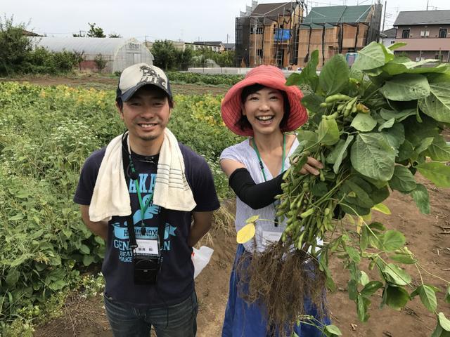 画像: 東京の農と婚活ツアーin三鷹の応援に行ってきました(その1)4代目冨澤ファームの屋敷林がすごい!
