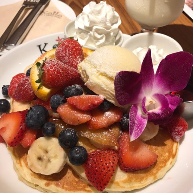 画像: ハワイアンパンケーキ♡