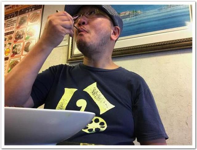 画像: カレーですよ4339(水天宮 カレー&洋食丼 T&M)ソーセージ。
