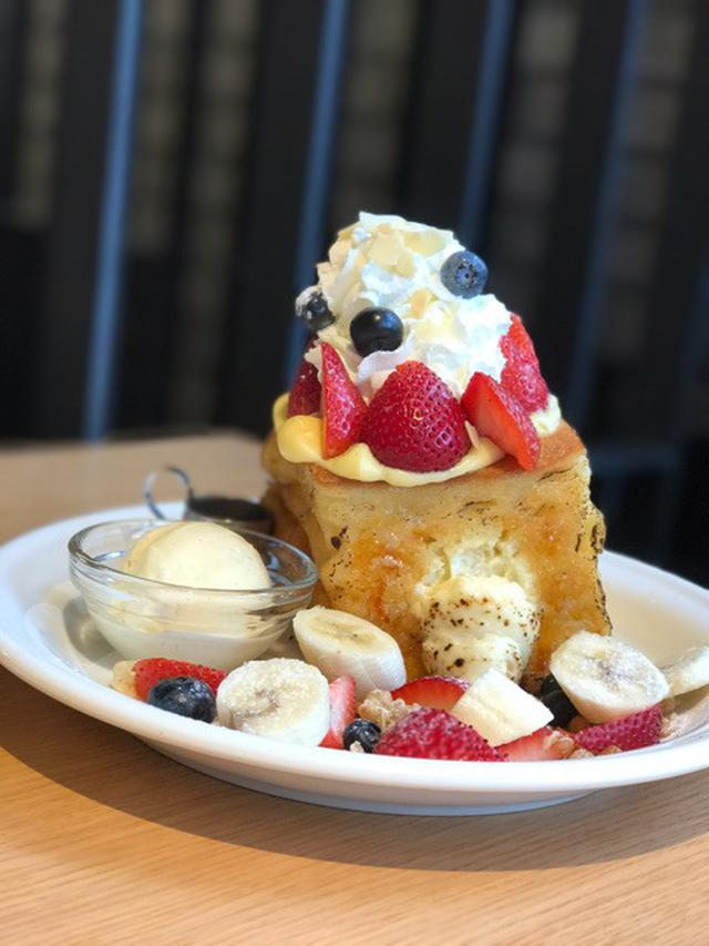 画像: 渋谷限定!高さ20cm!「J.S. パンケーキカフェ」のフレンチトースト