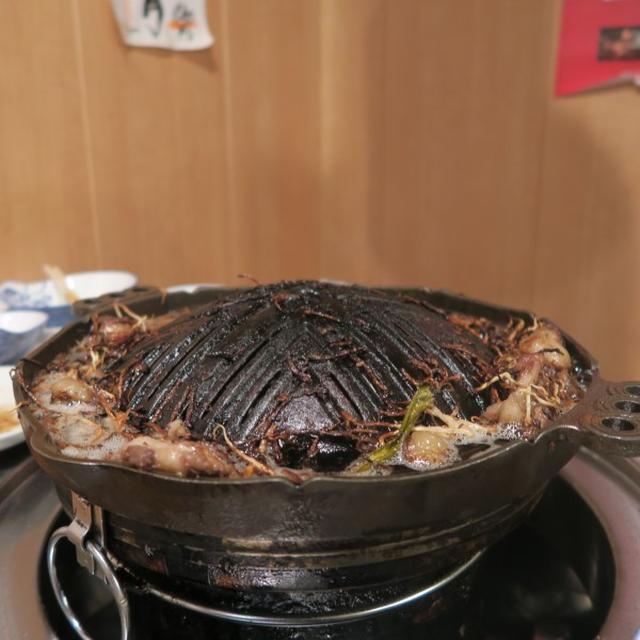 画像: 肉汁屋(新橋/羊肉のTボーンステーキ)