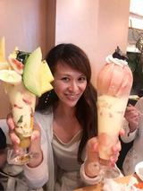 画像: 里井真由美『④都城市「TANAKAフルーツ」で 桃パフェ・かき氷・宮崎マンゴー ! 新栗も登場〜』