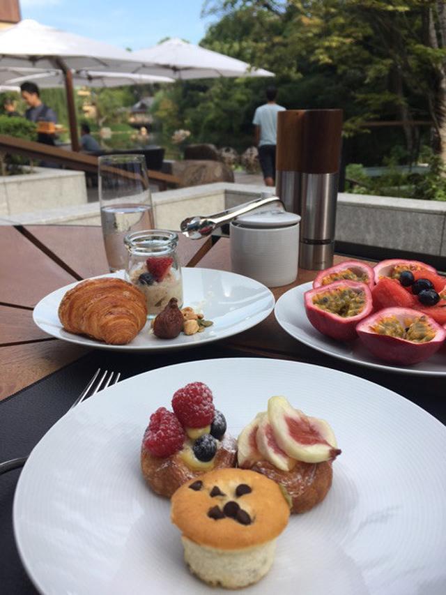 画像: フォーシーズンズホテル京都で朝食を❤︎