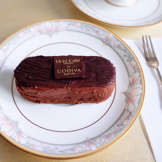 画像: ローソン・Uchi Café SWEETS×GODIVAガトーショコラ